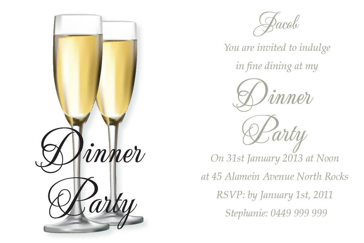 Surprise Birthday Dinner Invitation Wording