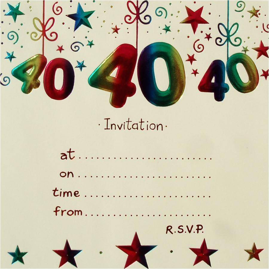 Surprise Party Invitation Template Uk