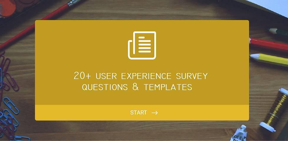 Survey Questions Templates