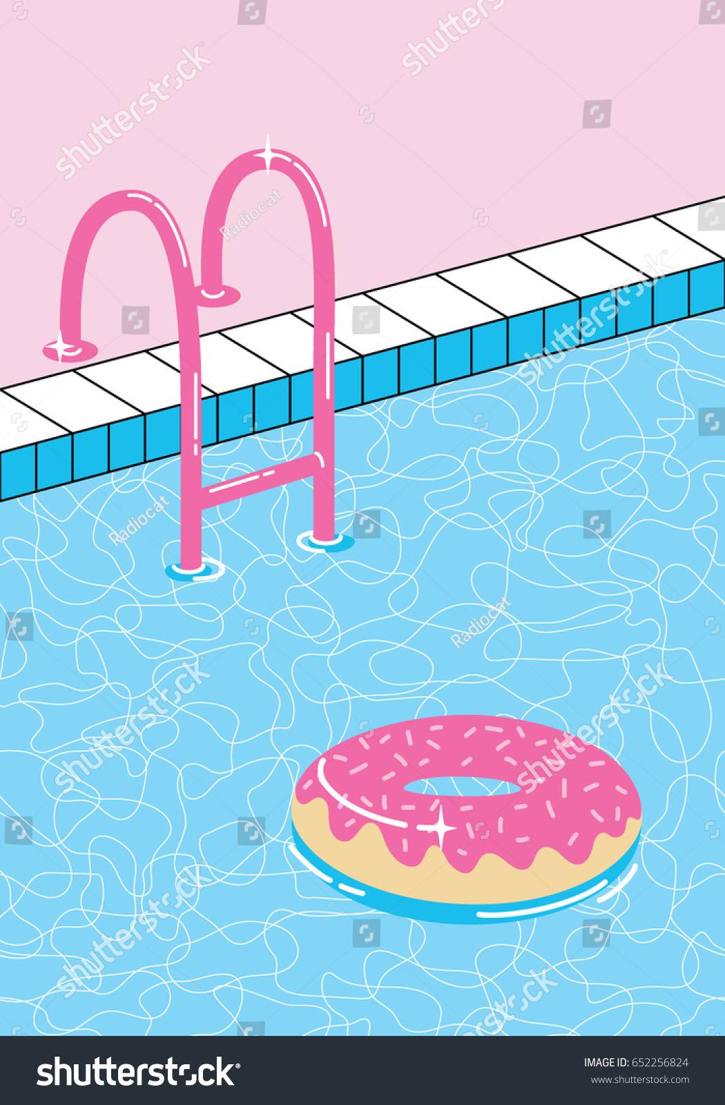 Swimming Pool Drawing Templates