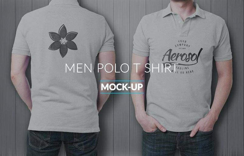 T Shirt Mockup Template Photoshop