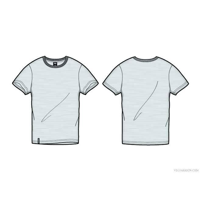 T Shirt Printing Template Psd