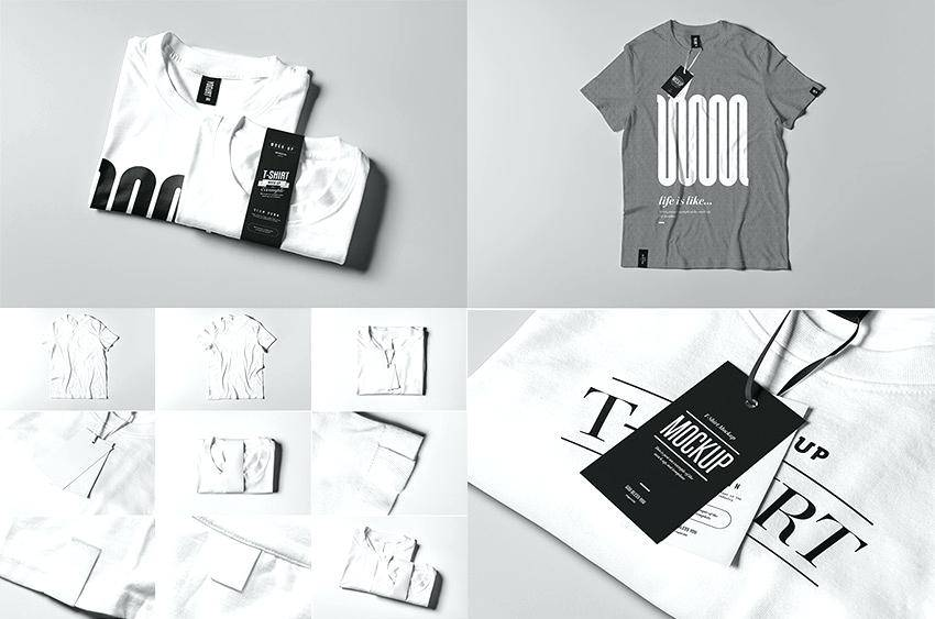 T Shirt Template Photoshop Front And Back
