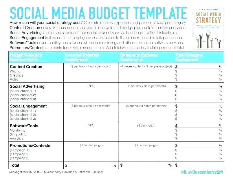 Tactical Marketing Plan Template Excel