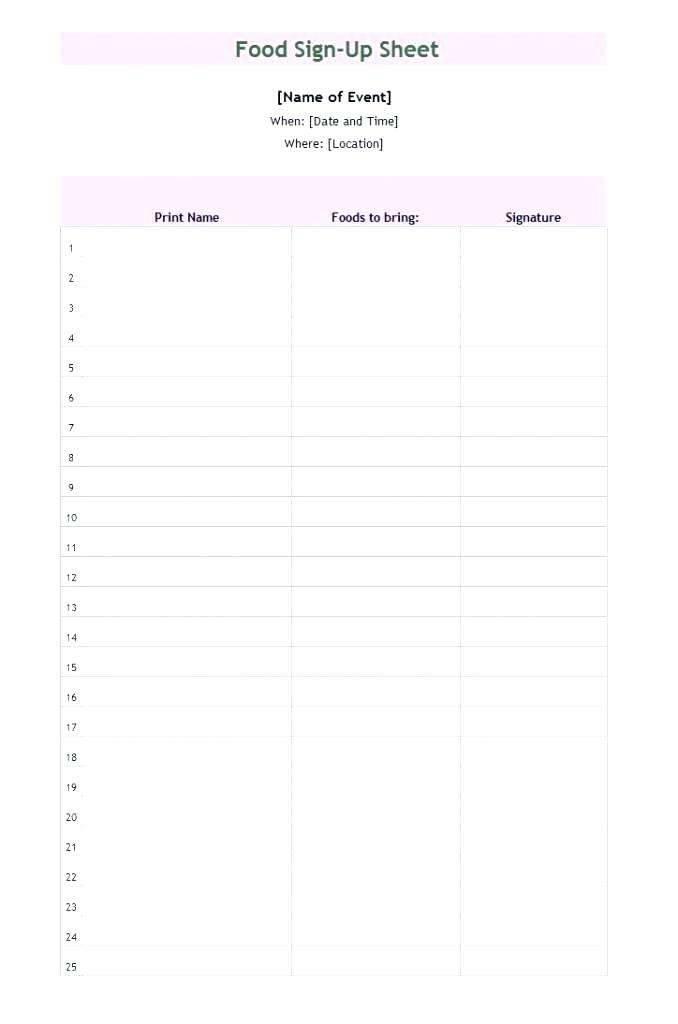 Task Assignment Spreadsheet Template