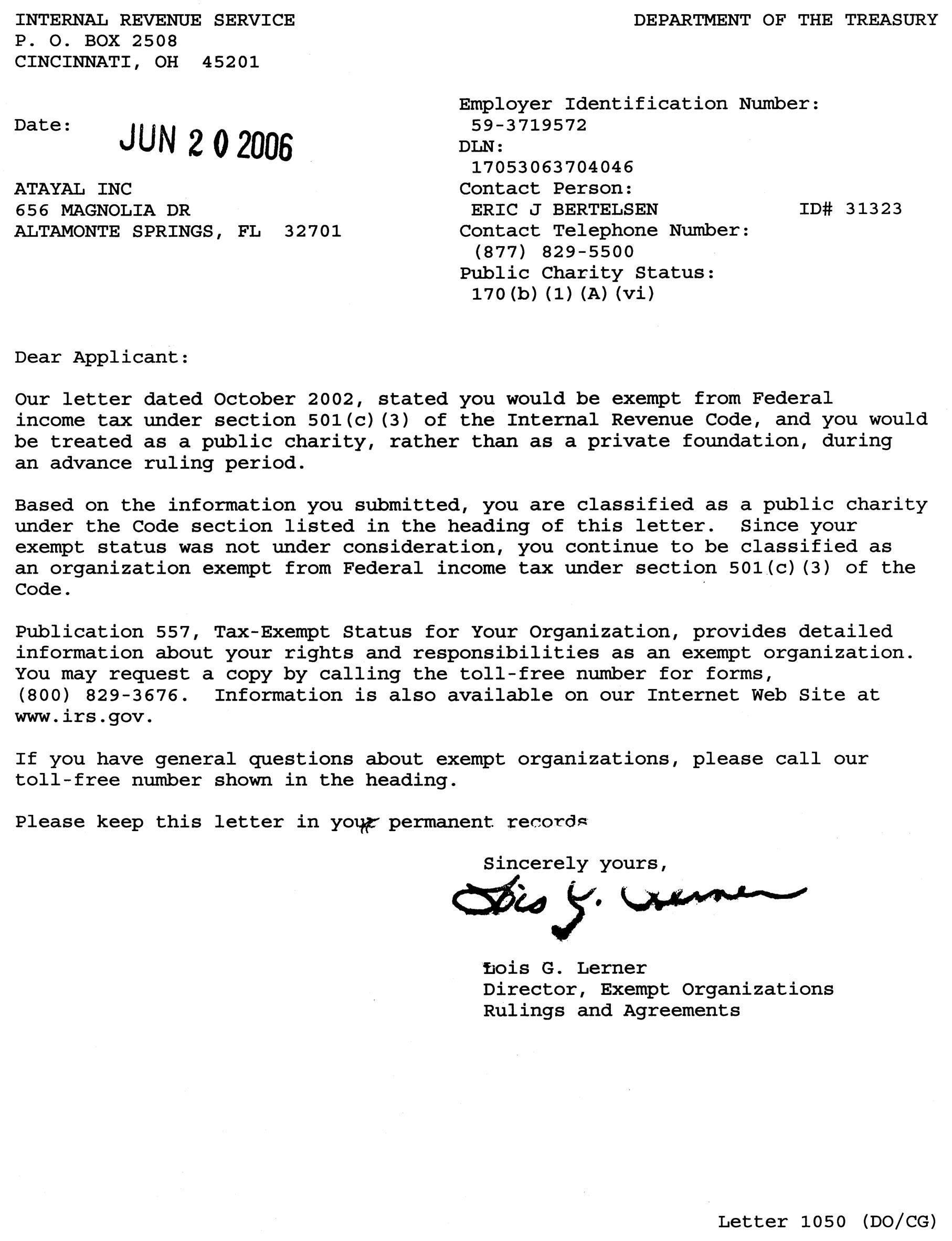 Tax Deduction Donation Receipt Samples