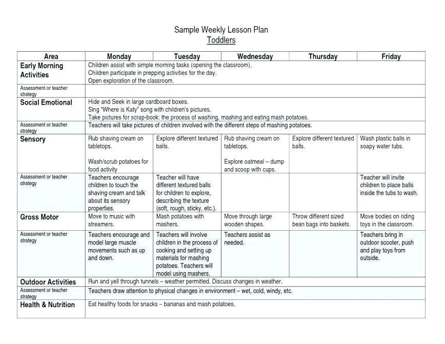 Teacher Weekly Planner Template Pdf