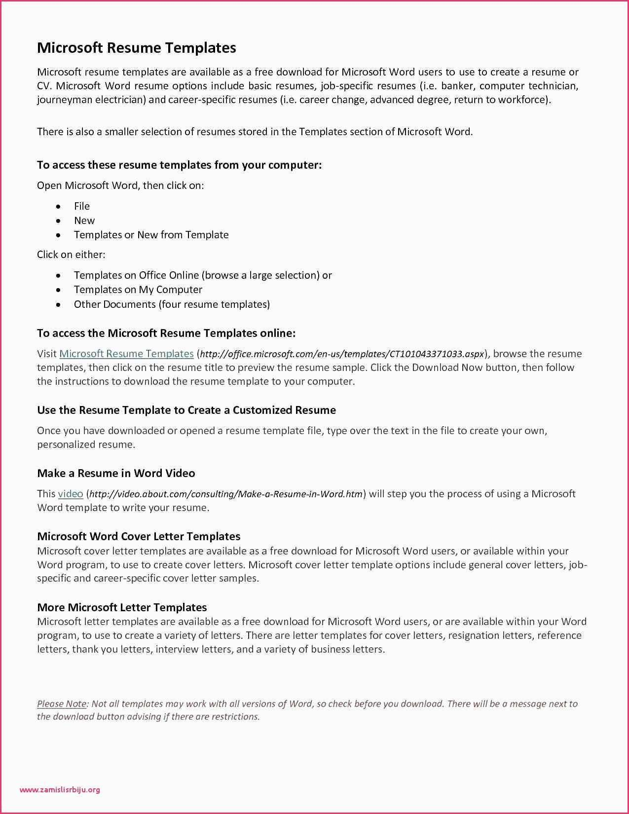 Teachers Resume Templates Free Download