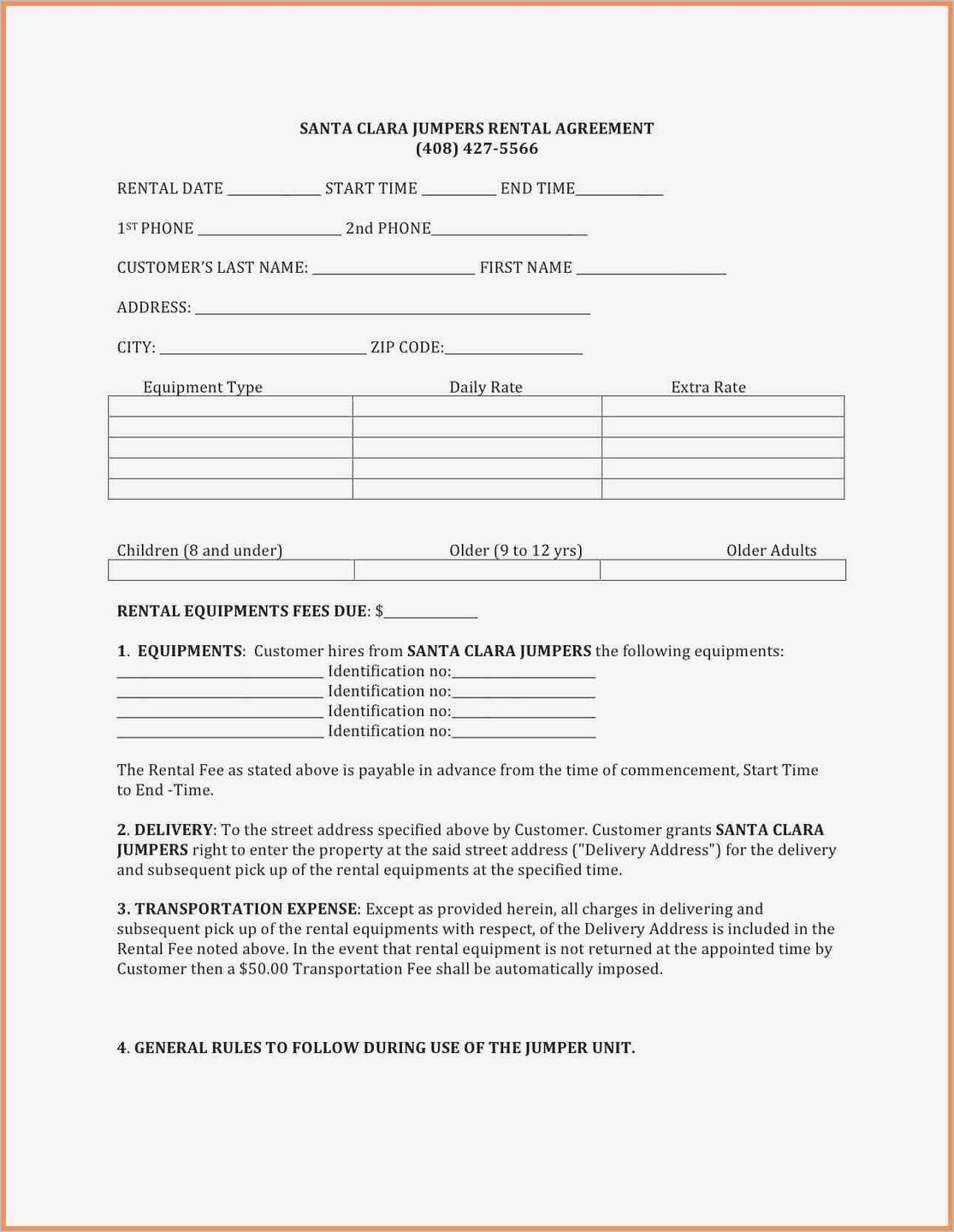 Teaming Agreement Form