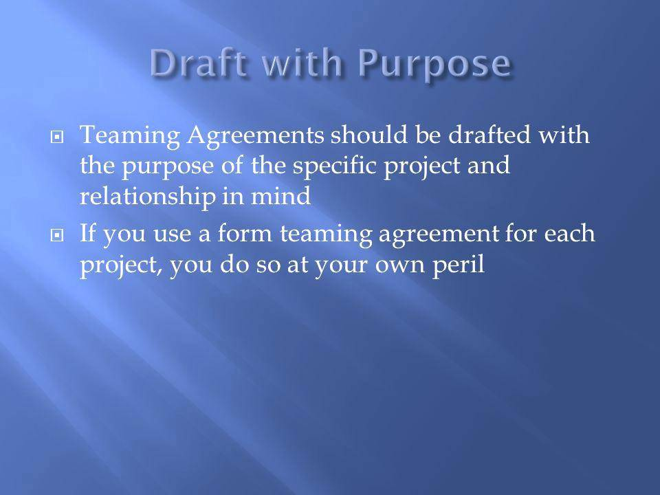 Teaming Agreement Template India