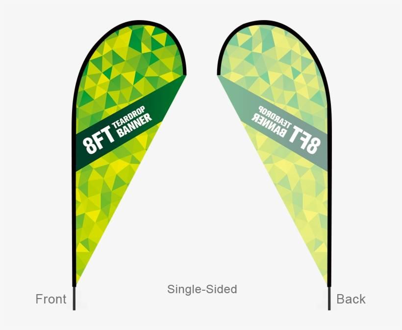 Teardrop Banner Template Download