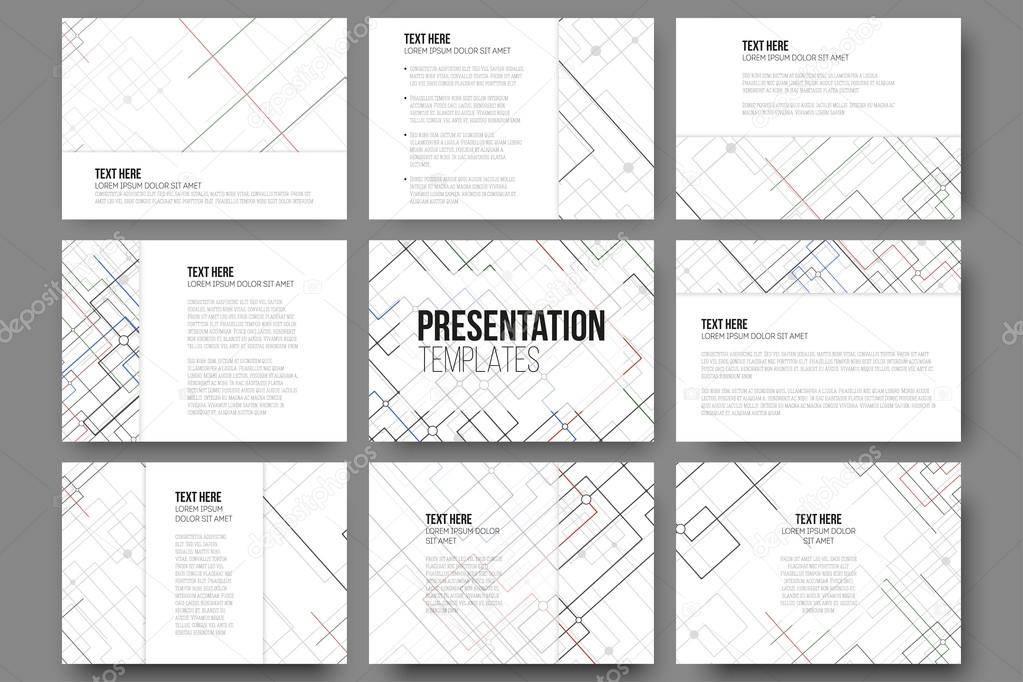 Technical Presentation Slides Templates