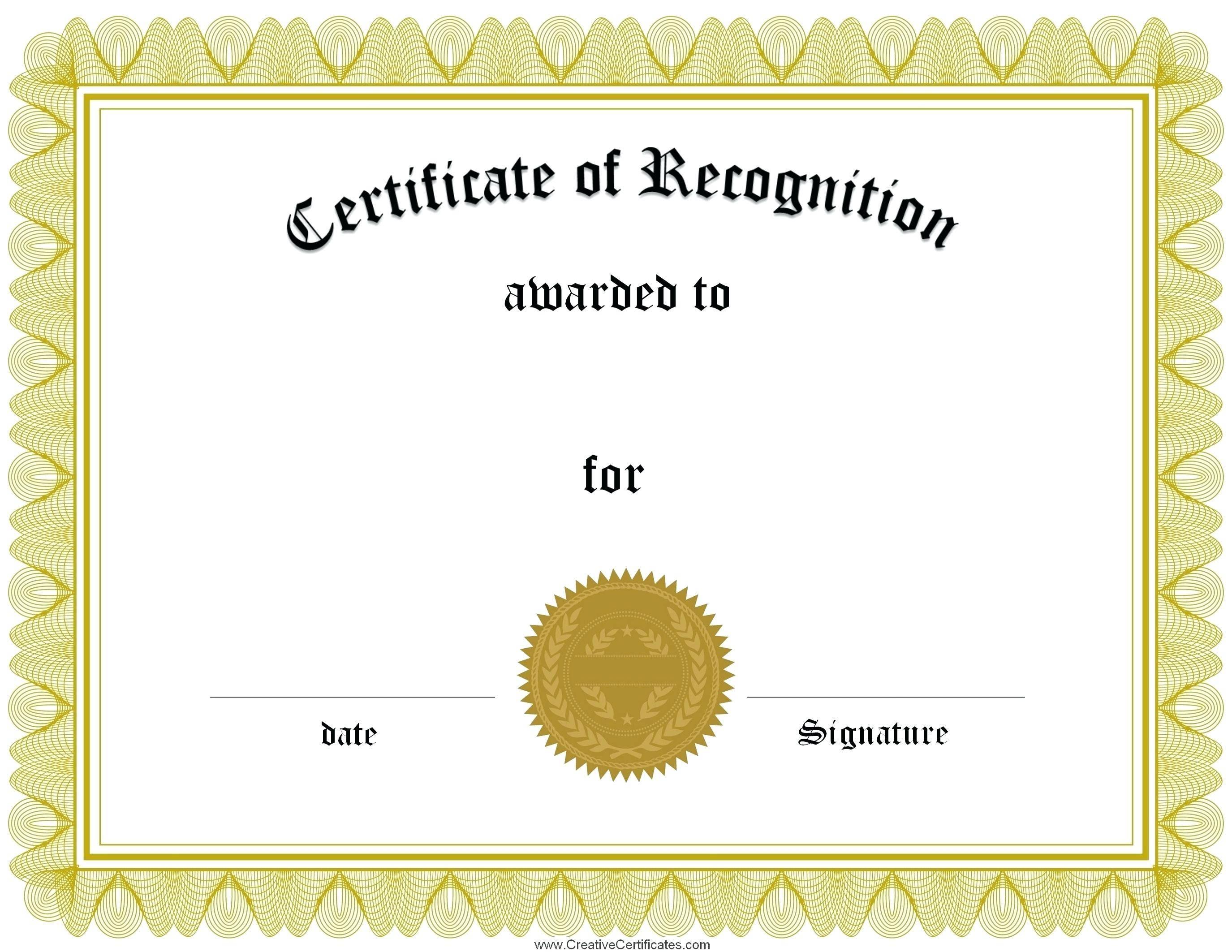 Template Certificate Of Appreciation For Volunteering