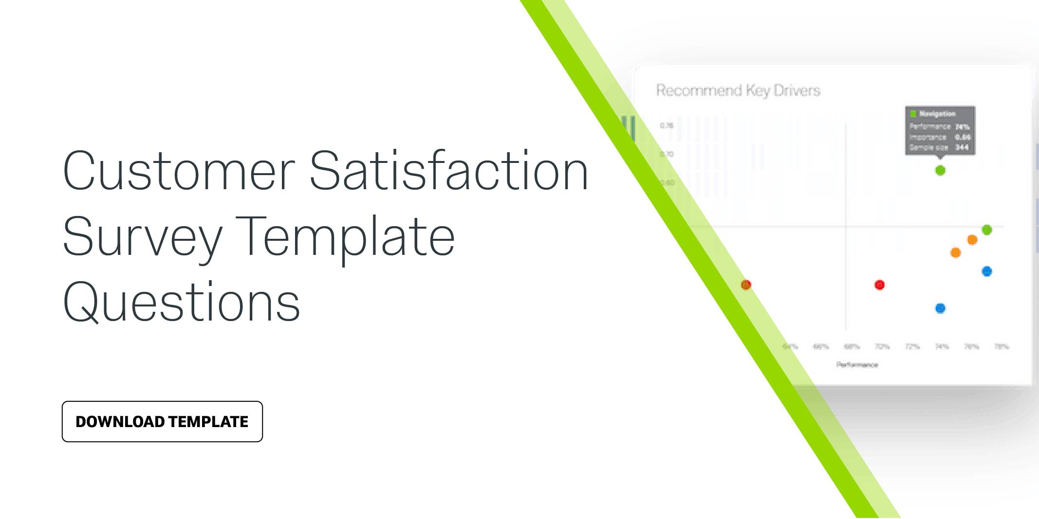 Template Customer Satisfaction Survey