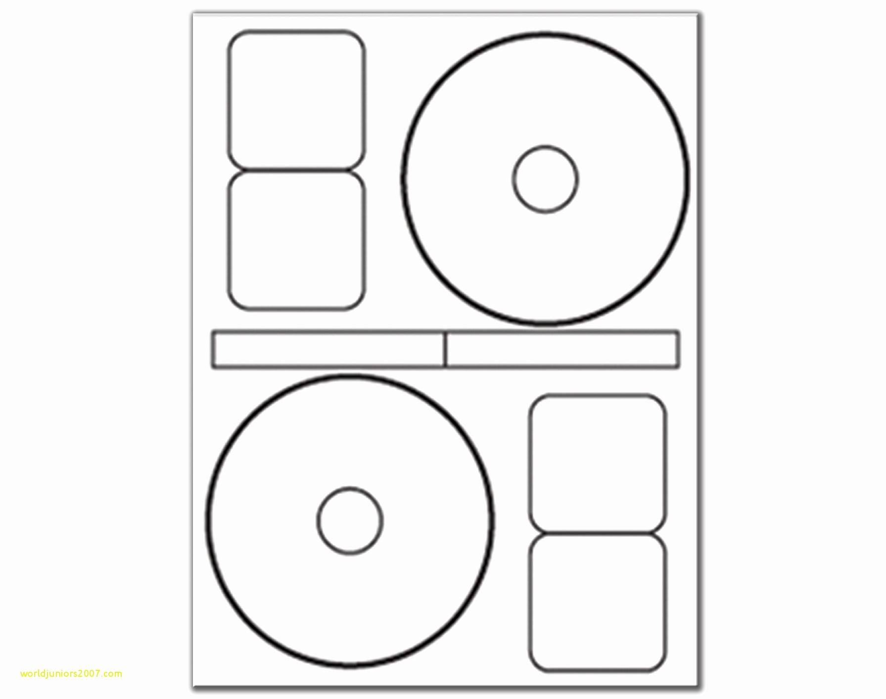 Template For 5931 Avery Cd Labels