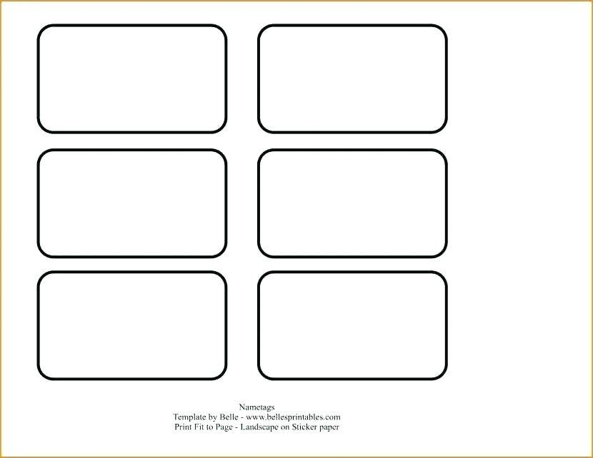Template For Avery Labels 8460