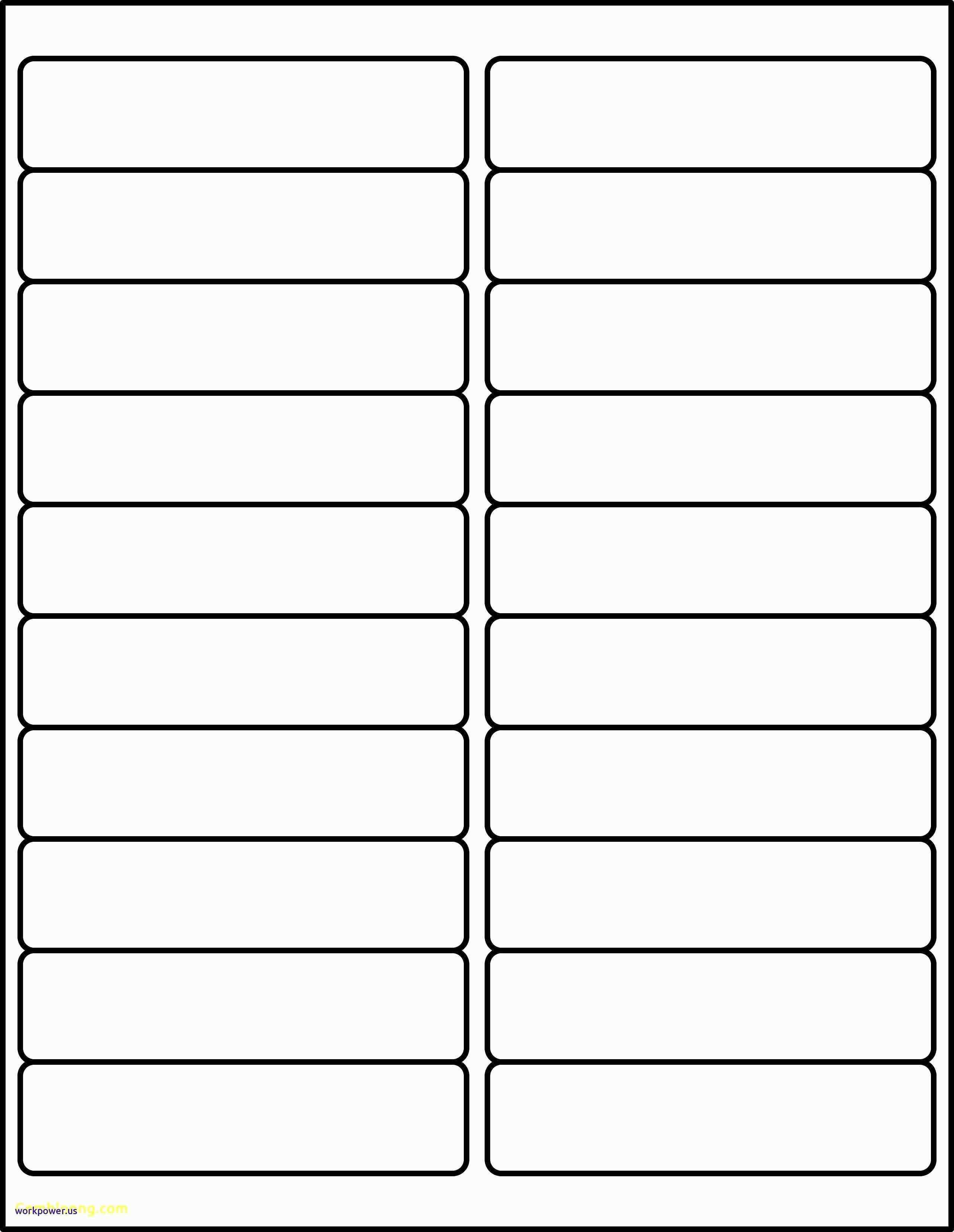 Template For Avery Labels L7651
