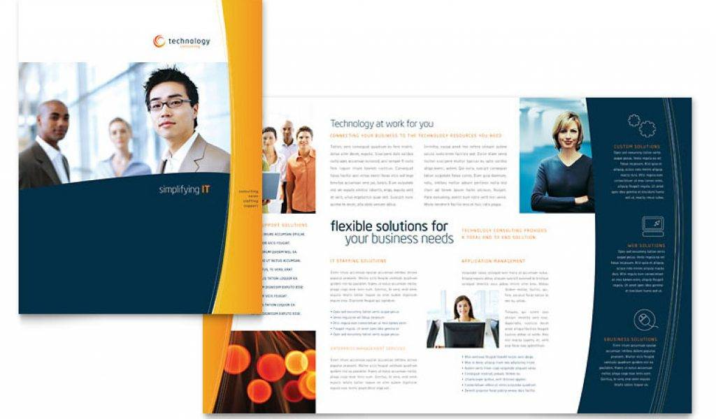 Template For Brochures Free Download