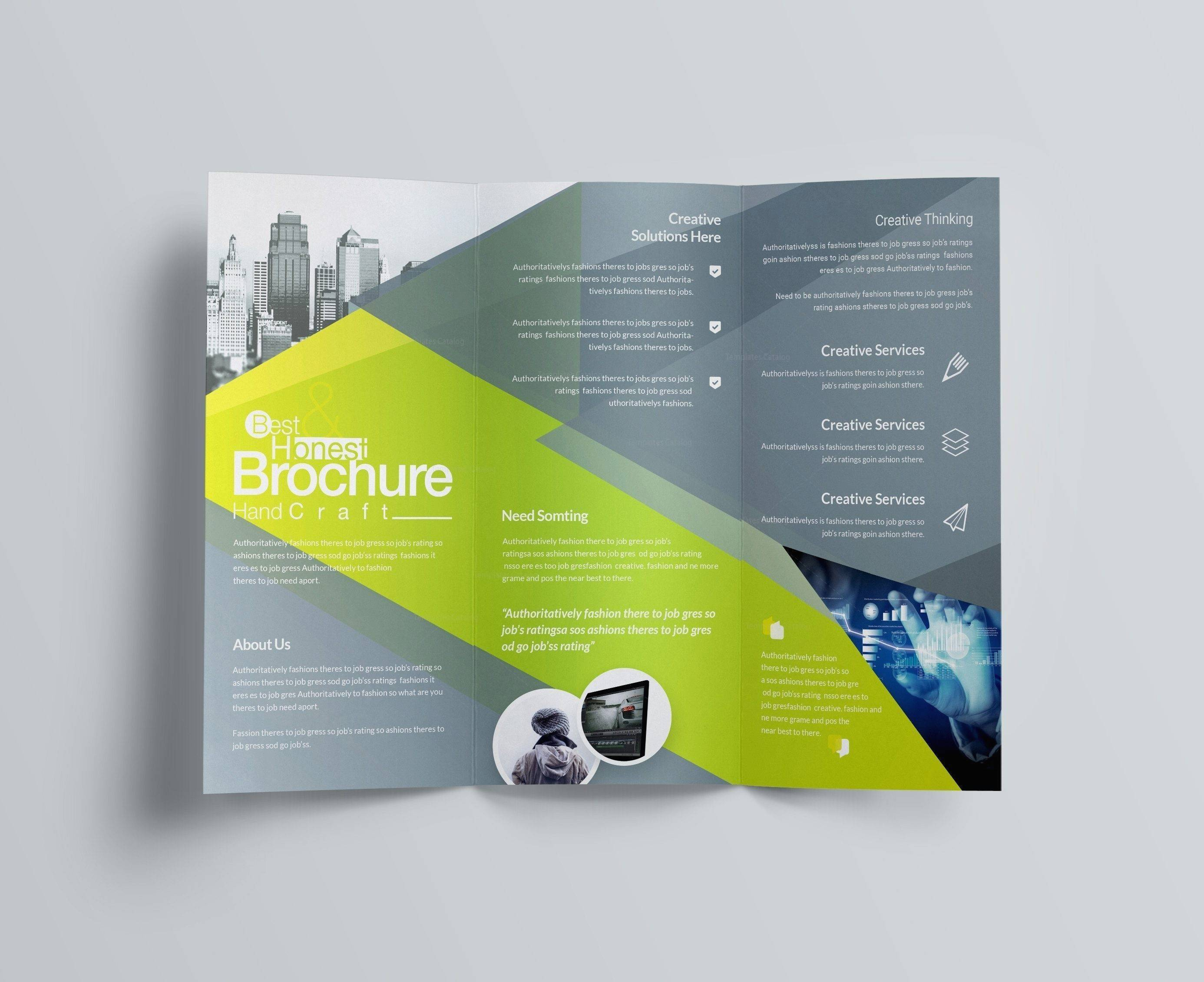 Template For Brochures Word