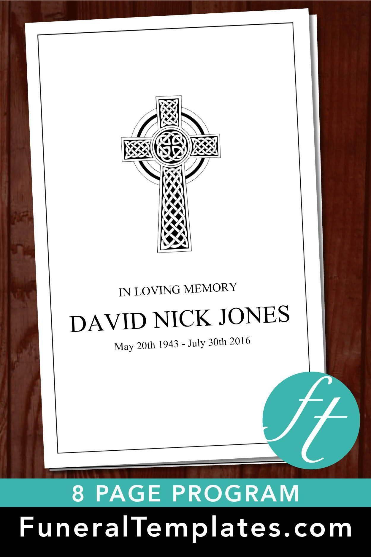 Template For Catholic Obituary