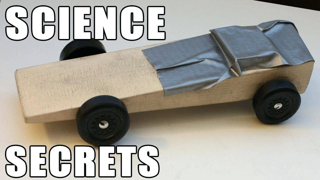 Template For Fastest Pinewood Derby Car