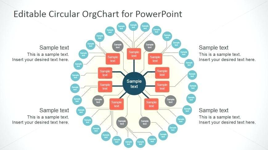 Template For Organizational Chart With Pictures