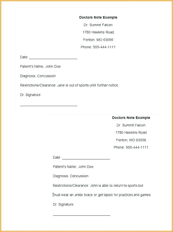 Template For Physician Progress Notes