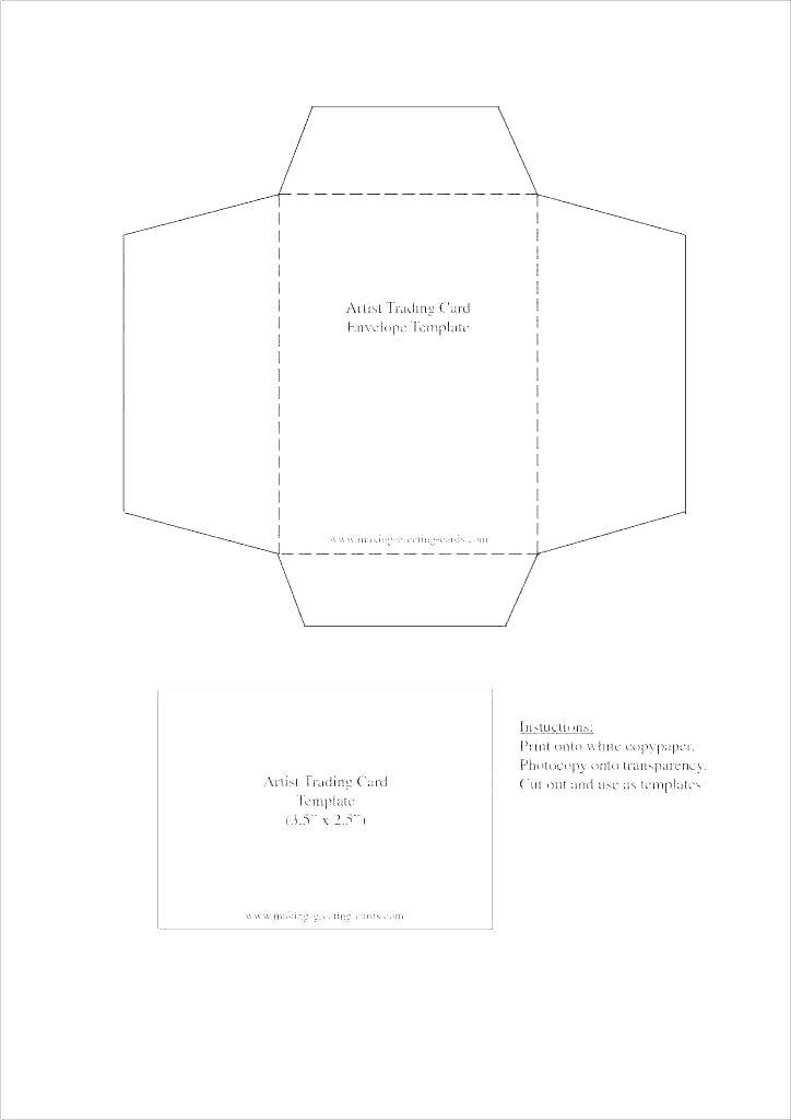 Template For Printing Business Envelopes