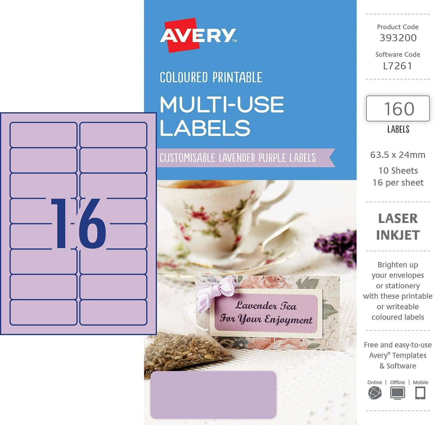 Template For Printing Labels 16 Per Sheet