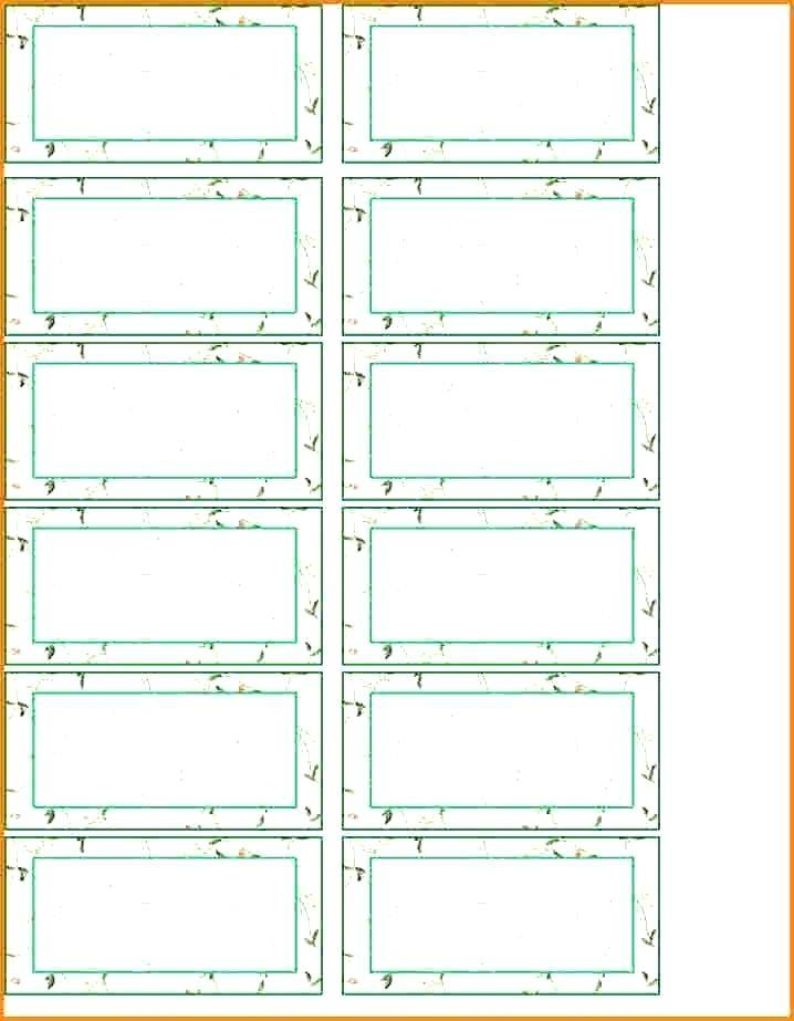 Template For Printing Labels Free