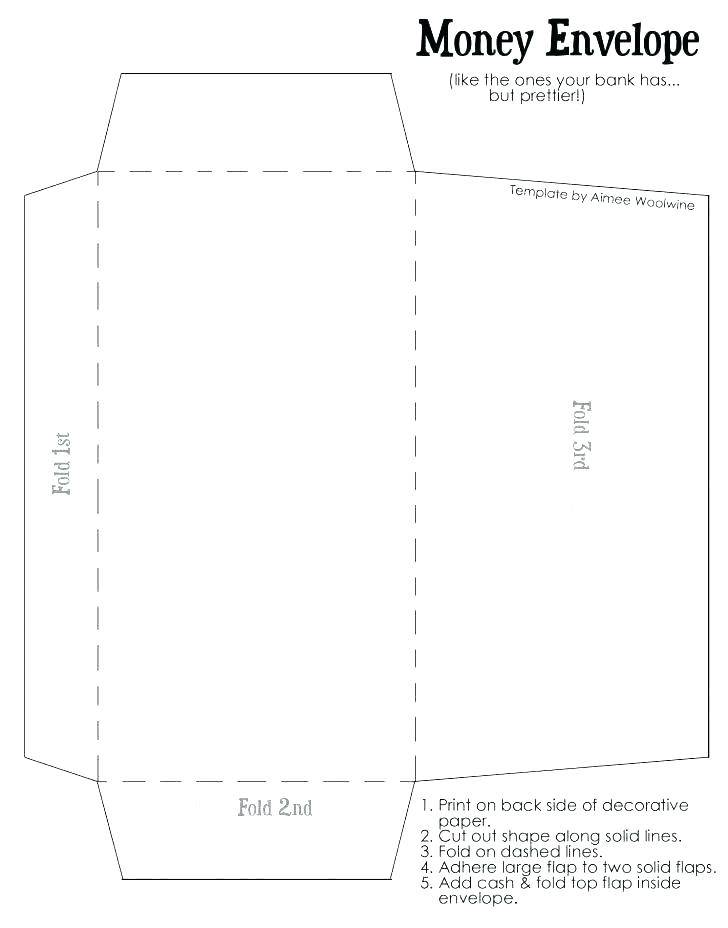 Template For Printing Small Envelopes