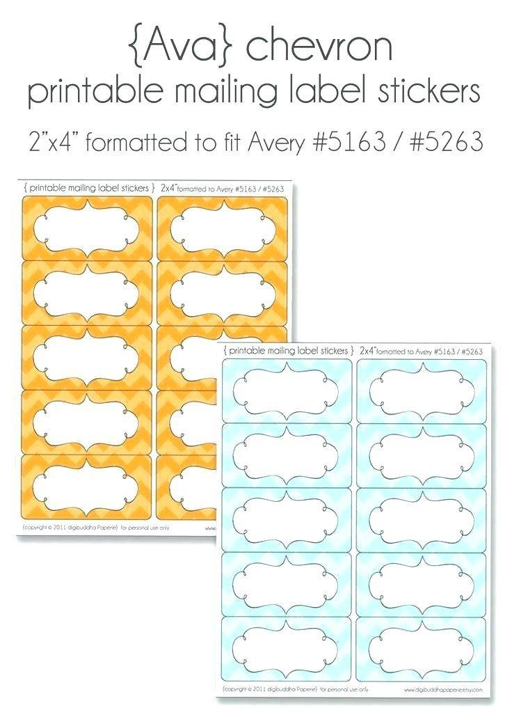 Template For Staples White Mailing Labels