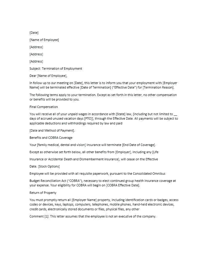 Template For Termination Of Apartment Lease