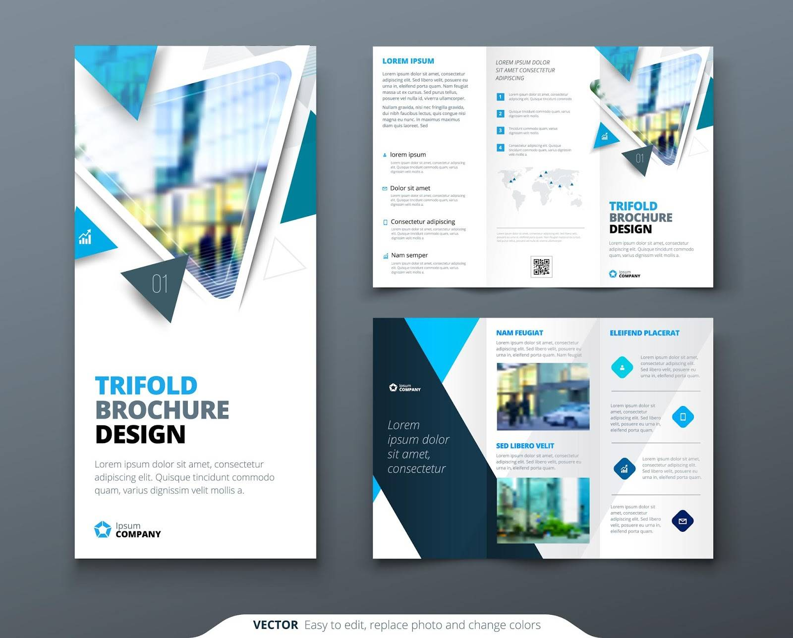 Template For Trifold Brochure