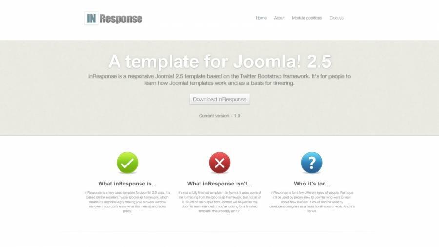 Template Responsive Joomla 2.5 Free