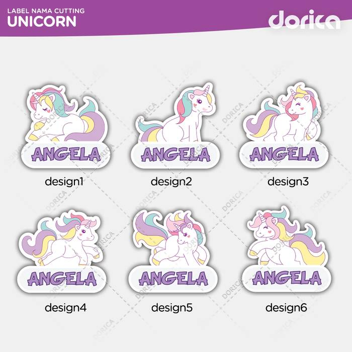 Template Sticker Label Nama