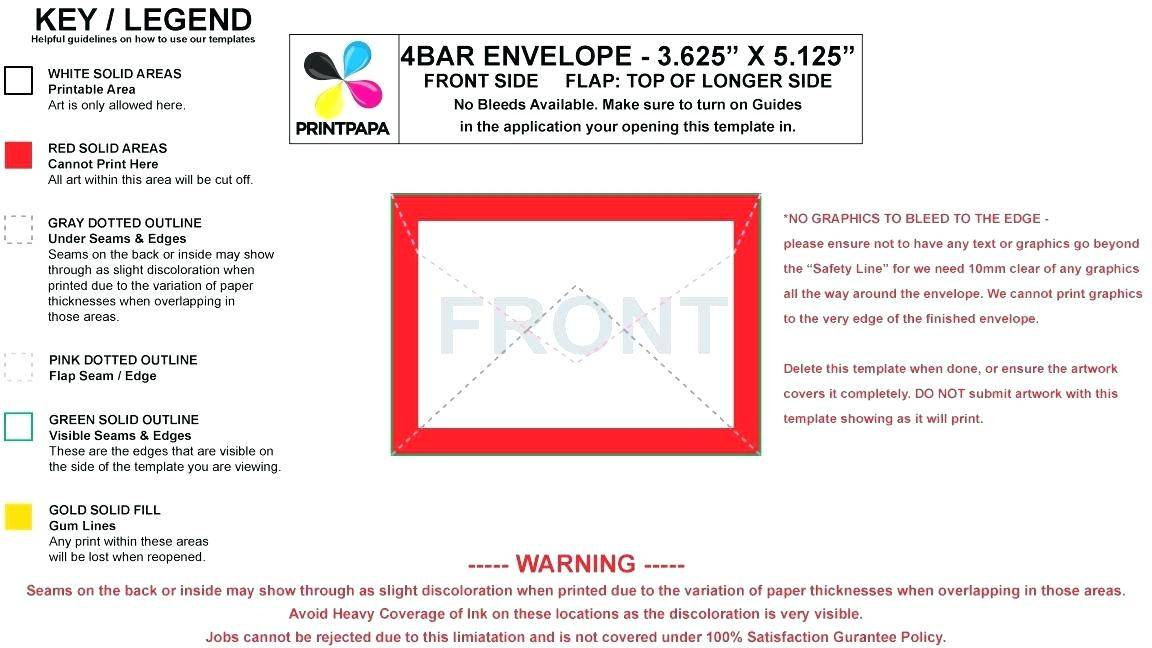 Template To Print On Envelopes From Word