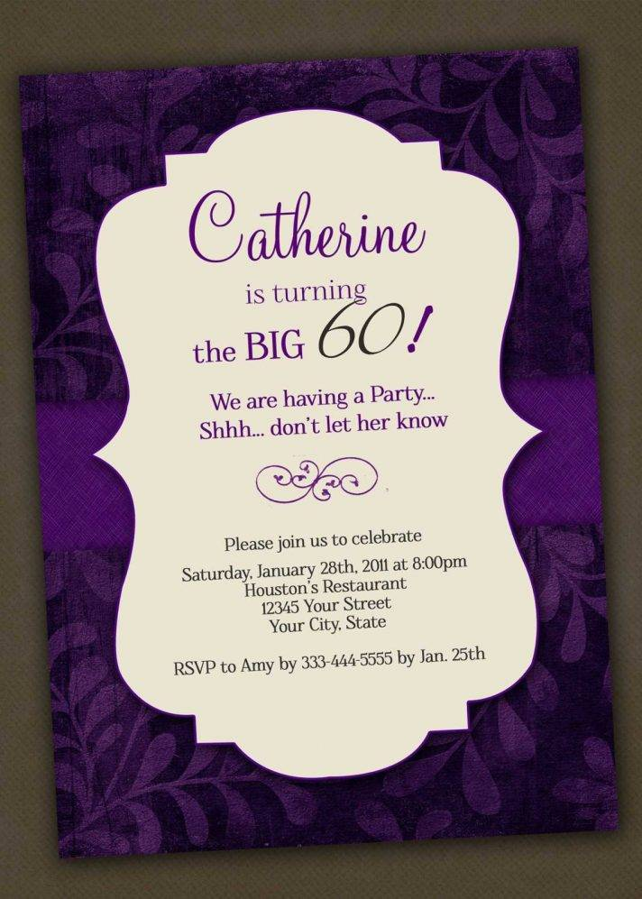 Templates For 18th Birthday Invitations