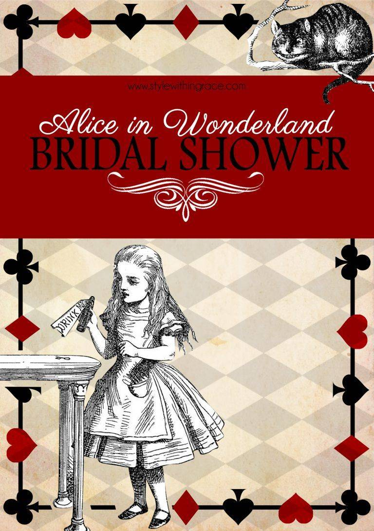 Templates For Bridal Shower Invites