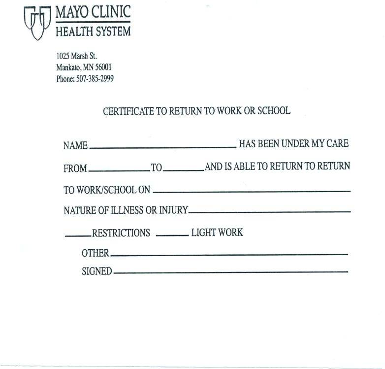 Templates For Fake Doctor Notes