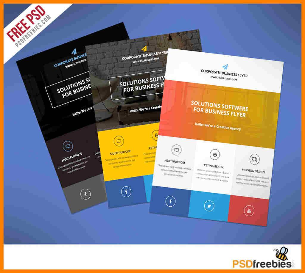 Templates Promotional Flyers