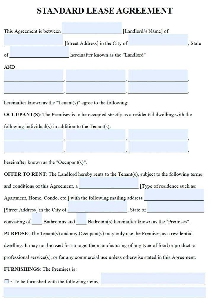 Tenancy Agreement Addendum Template