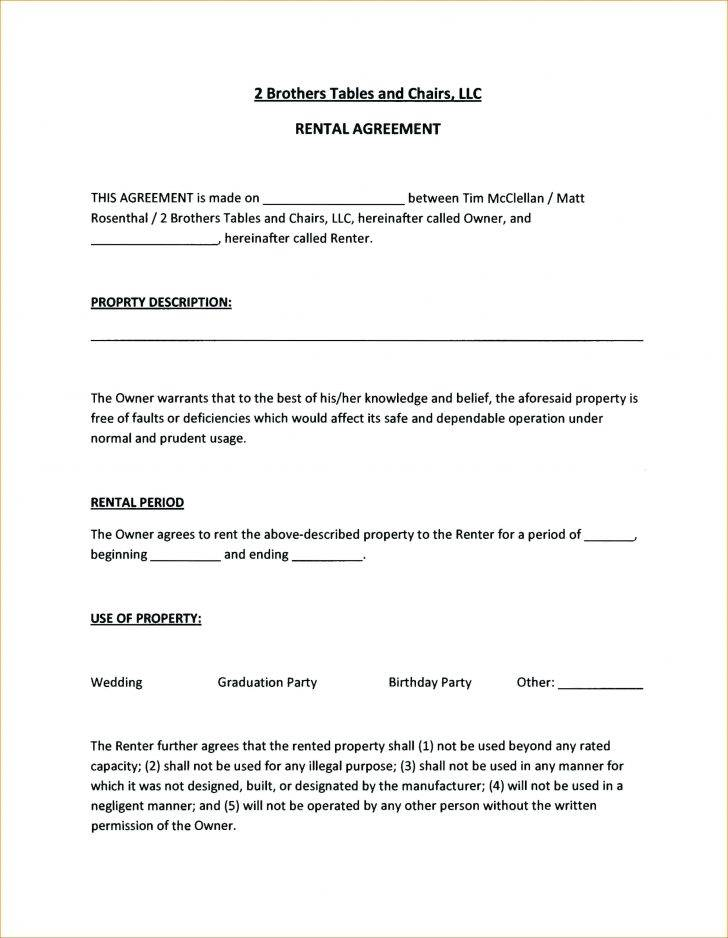 Tenancy Contracts Templates