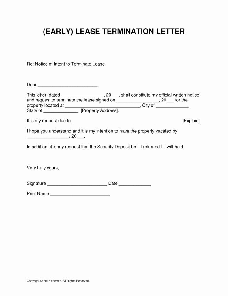 Tenant Buyout Agreement Template