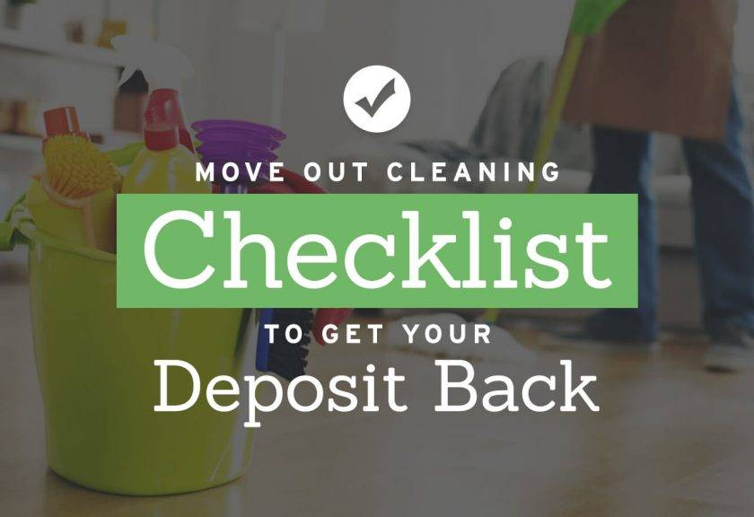 Tenant Move Out Checklist Template