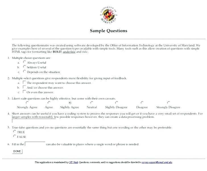Tenant Satisfaction Questionnaire Template