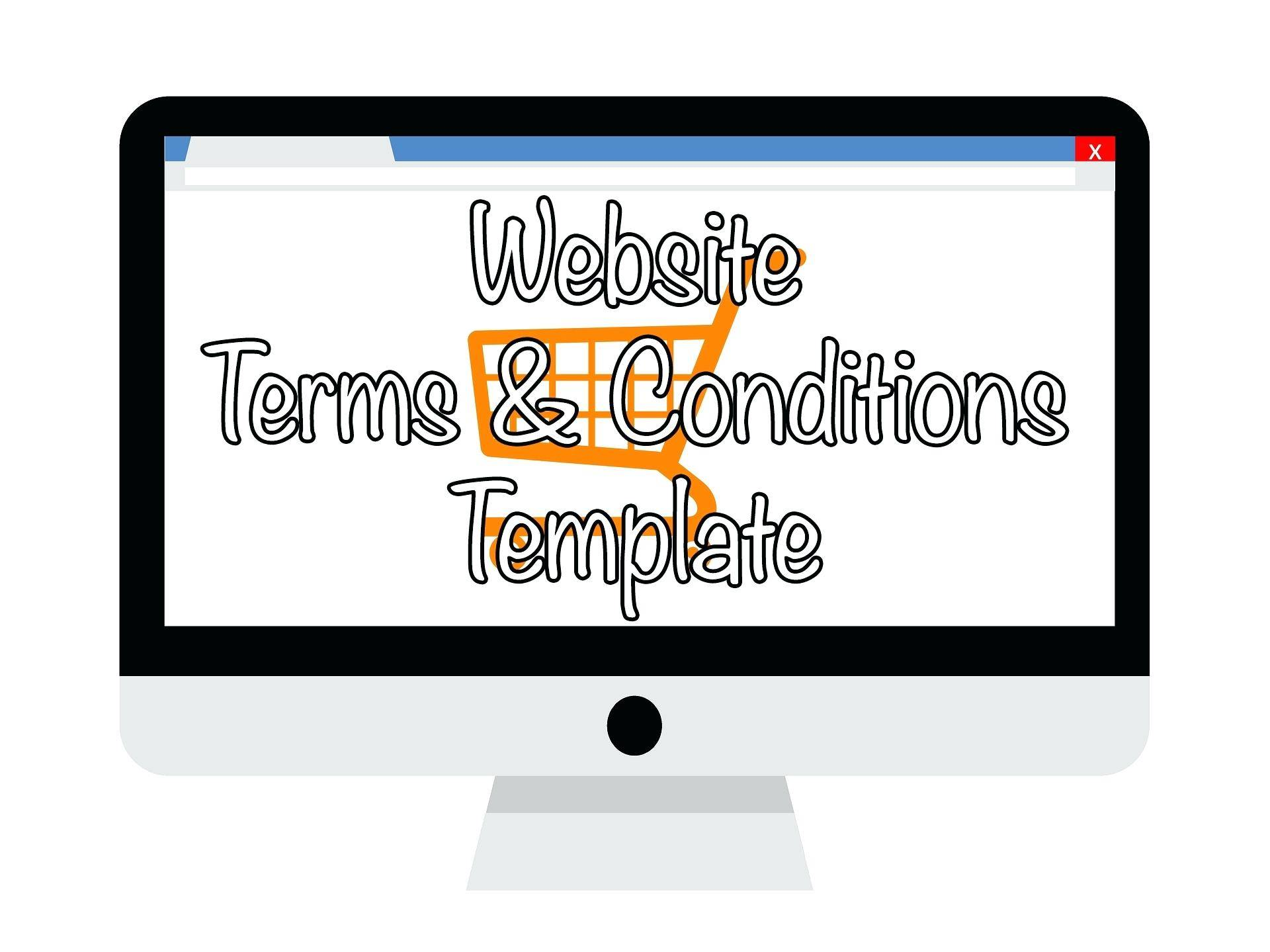 Terms And Conditions Of Trade Template Nz