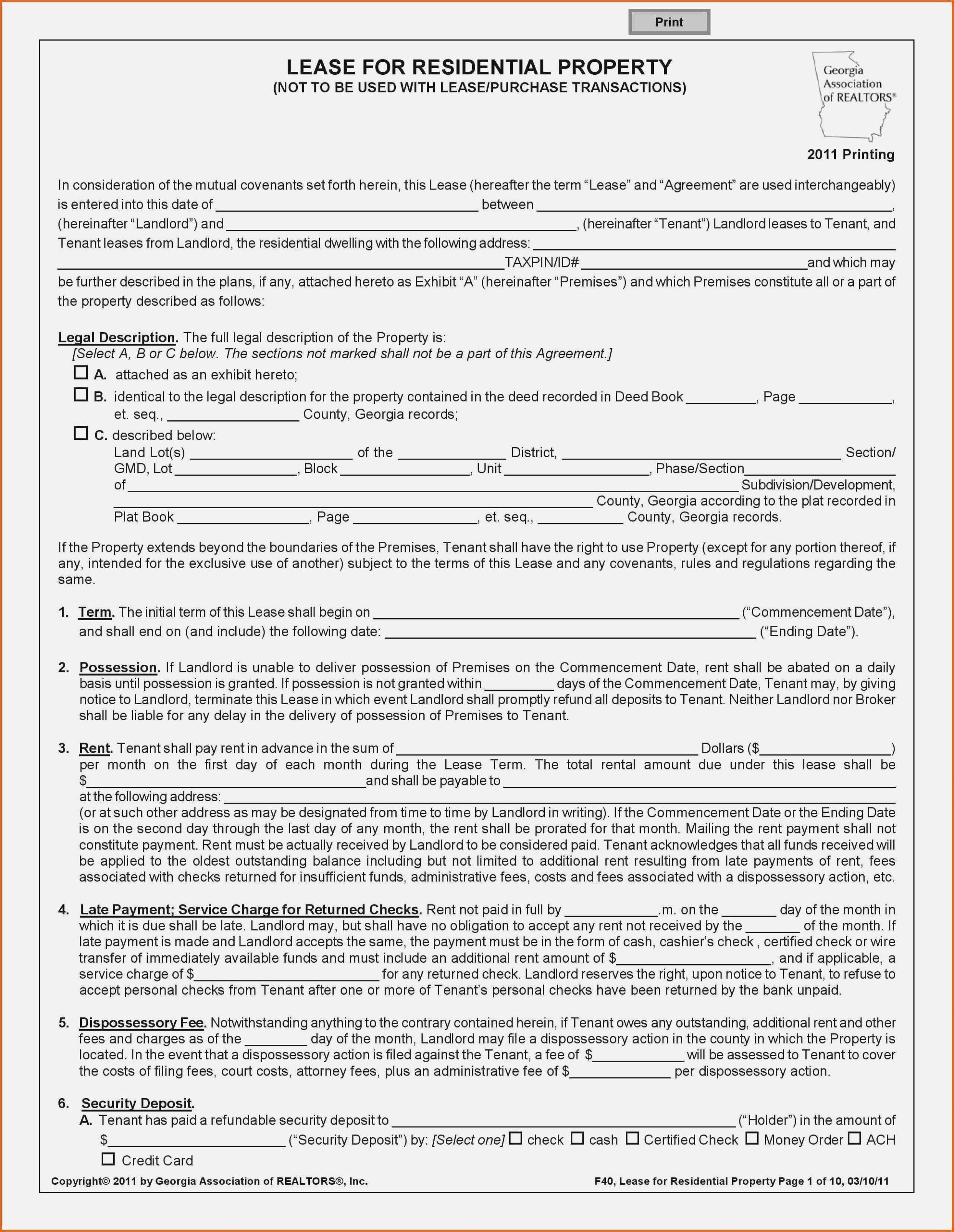 Texas Lease Purchase Agreement Form
