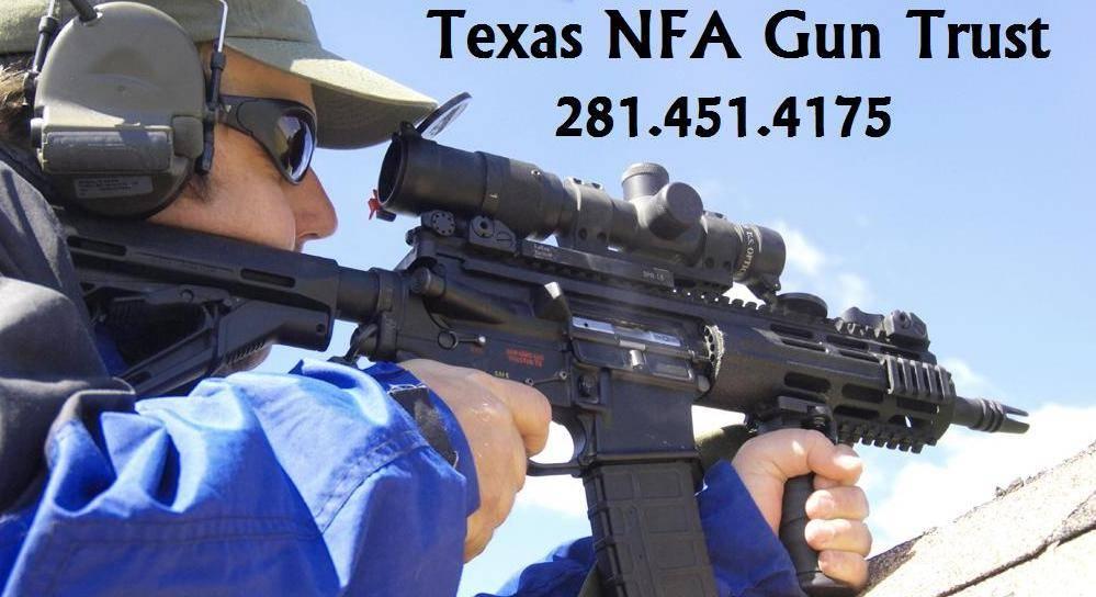Texas Nfa Gun Trust Template
