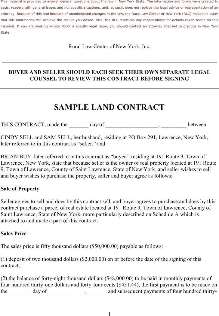 Texas Real Estate Purchase Contract Template